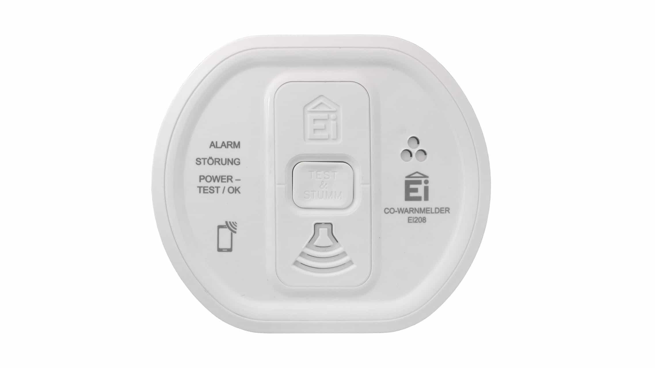 Ei Electronics Ei208iw Co Melder Mit Audiolink Im Test Co Melder Org