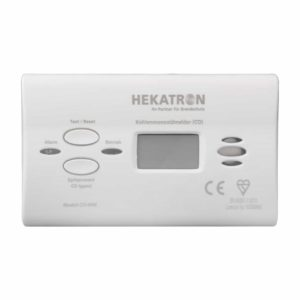 Hekatron CO-Warnmelder mit Display