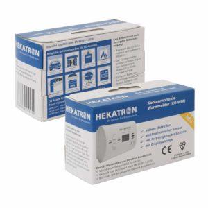 Hekatron CO-Warnmelder Verpackung